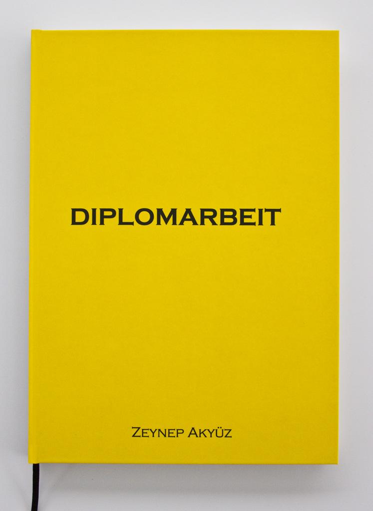 diplomarbeit binden lassen wien